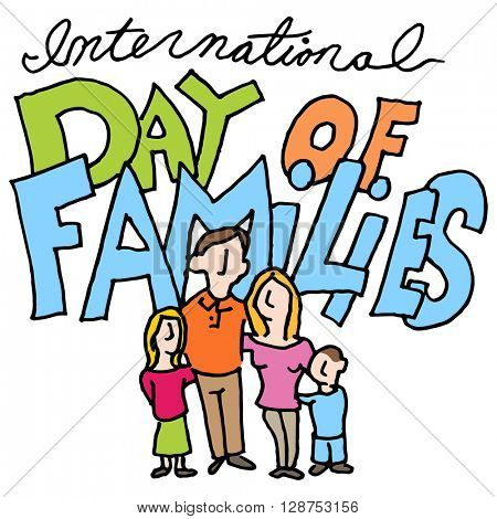 An image of a international day of families.