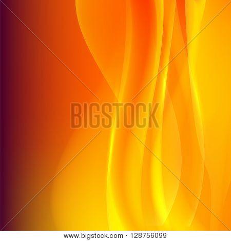 Orange Background Presentation Transparency Blending Line