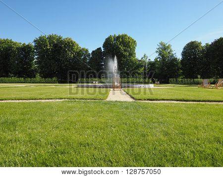 Royal Garden In Turin