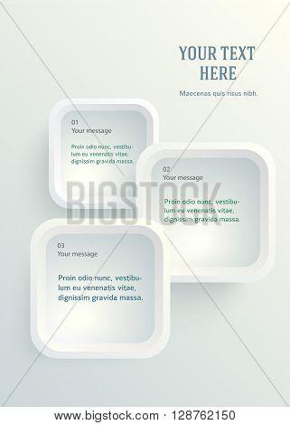 Vertical Format A4 Leaflet Page Presentation