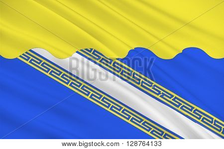 Flag of Aube is a French department in the Alsace-Champagne-Ardenne-Lorraine region of north-eastern France.