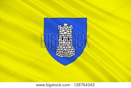 Flag of Avallon is a commune in the Yonne department in Burgundy in central-eastern France.