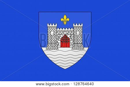 Flag of Blaye is a commune and subprefecture in the Gironde department in Aquitaine in southwestern France.