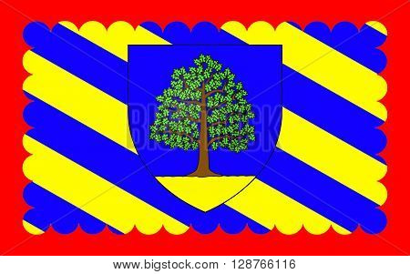 Flag of Chateau-Chinon is a commune in the Nievre department in France. It is a sub-prefecture of the department.
