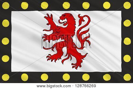 Flag of Chatellerault is a commune in the Vienne department in the Poitou-Charentes region in France. It is located in the northeast of the former province Poitou and the residents are called Chatelleraudais.
