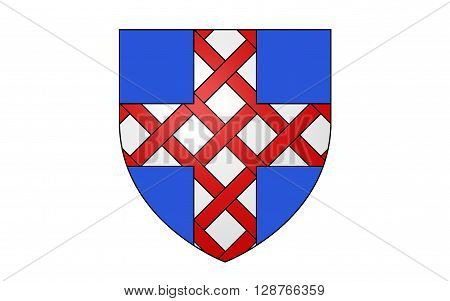 Flag of Cholet is a commune of western France in the Maine-et-Loire department. It was the capital of military Vendee