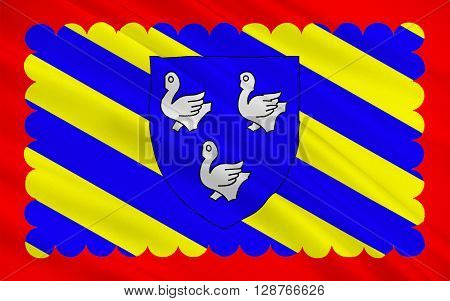 Flag of Cosne-Cours-sur-Loire is a commune in the Nièvre department in central France.