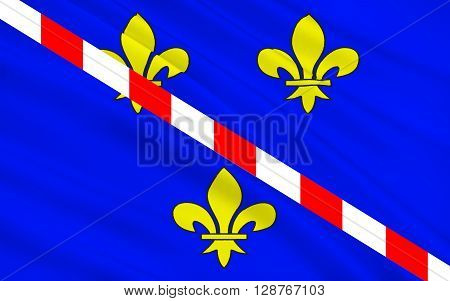 Flag of Evreux is a commune in the Eure department of which it is the capital in Haute Normandie in northern France.