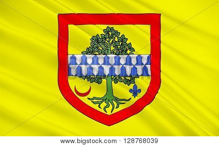 Flag of Le Raincy is a commune in the eastern suburbs of Paris France. Le Raincy is a sub-prefecture of the Seine-Saint-Denis department and the seat of the Arrondissement of Le Raincy.