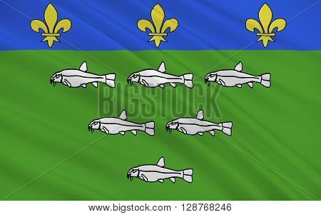 Flag of Loches is a commune in the Indre-et-Loire department in central France