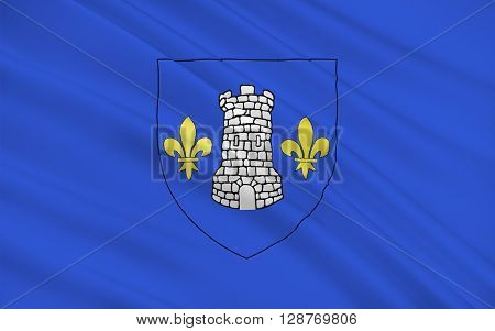 Flag of Nontron is a commune in the Dordogne department in Aquitaine in southwestern France.
