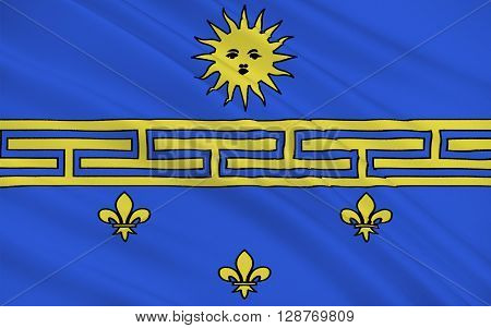 Flag of Nogent-sur-Seine is a commune in the Aube department in north-central France. The headquarters of The Soufflet Group is located here.