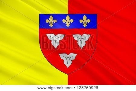 Flag of Orleans is a city in north-central France it is the capital of the Loiret department and of the Centre-Val de Loire region.
