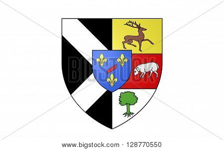 Flag of Rambouillet is a commune in the Yvelines department in the Ile-de-France in north-central France