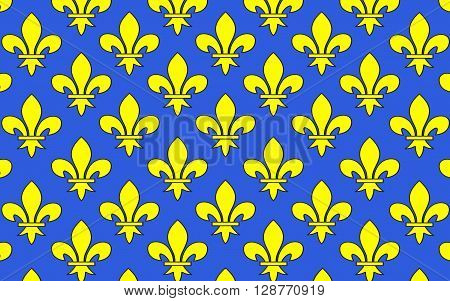 Flag of Saint-Denis is a commune in the northern suburbs of Paris France