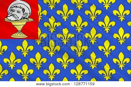 Flag of Saint-Jean-Angely is a commune in the Charente-Maritime department in southwestern France.