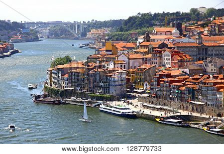 Old Center Of City Of Porto And Douro River, Portugal