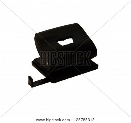 Black hole puncher isolated on a white background