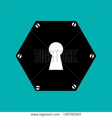 key hole  design, vector illustration eps10 graphic