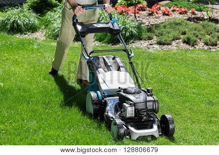 Modern Lawn Mower