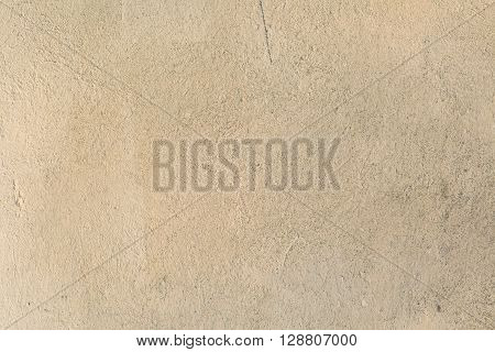 Old destroyed wall in close up concrete wall texture