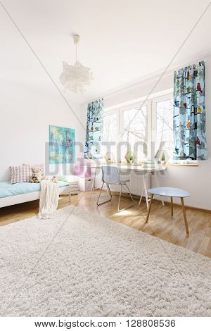 Feeling Light And Optimistic In This Peaceful Interior