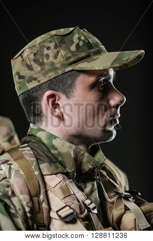 Special Forces Soldier Man