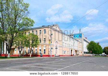 GOMEL BELARUS - May 1 2016: Building of shoe factory