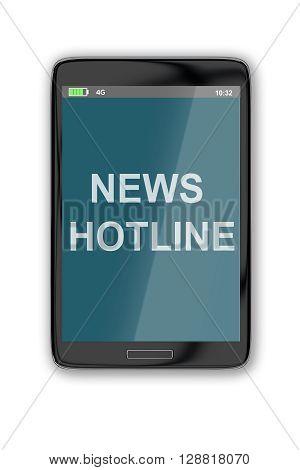News Hotline Concept