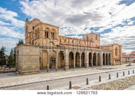 Basilica San Vincente of Avila - Spain