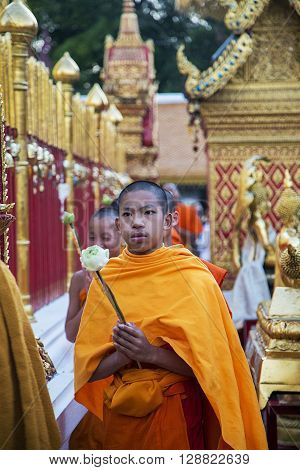 Wat Phra That Doi Suthep Temple In Chiang Mai