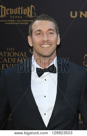 LOS ANGELES - APR 29: Brandon McMillan at The 43rd Daytime Creative Arts Emmy Awards Gala at the Westin Bonaventure Hotel on April 29, 2016 in Los Angeles, California