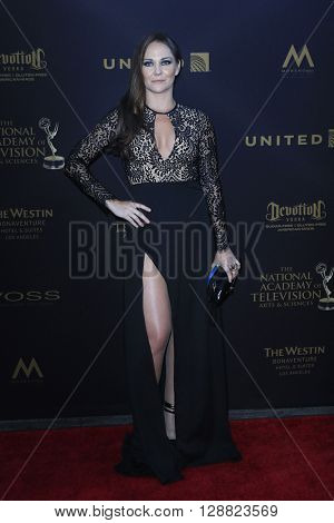 LOS ANGELES - APR 29: Jade Harlow at The 43rd Daytime Creative Arts Emmy Awards Gala at the Westin Bonaventure Hotel on April 29, 2016 in Los Angeles, California
