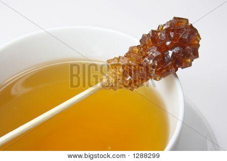 Swizzle Sticks And Tea