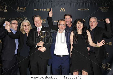 LOS ANGELES - APR 29: Outstanding Promotional Announcement Topical, Today Show- ROKERTHON 2 at The 43rd Daytime Creative Arts Emmy Awards, Westin Bonaventure Hotel on April 29, 2016 in Los Angeles, CA