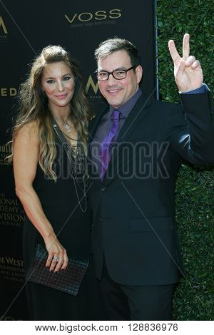 LOS ANGELES - May 1: Brienne Pedigo, Tyler Christopher at The 43rd Daytime Emmy Awards Gala at the Westin Bonaventure Hotel on May 1, 2016 in Los Angeles, California