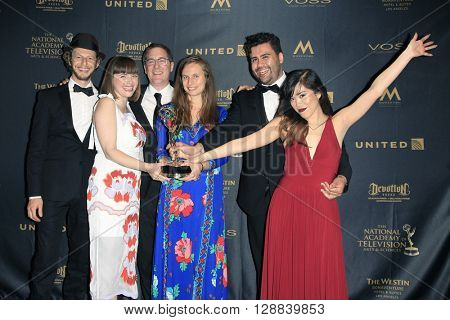 LOS ANGELES - APR 29: Bianca Giaever, Winning Team, Outstanding Directing Special Class - 43rd Daytime Creative Arts Emmy Awards Gala, Westin Bonaventure Hotel on April 29, 2016 in Los Angeles, CA