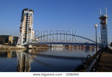 Salford Quays Bridge