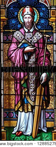 Stained Glass - St. Adalbert Of Prague