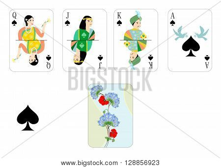 the beautiful and original designer playing cards.