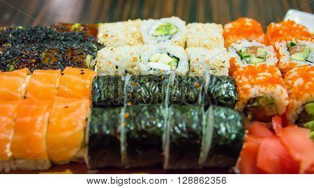 Japanese Cuisine - Sushi Set sashimi, cuisine, rice,