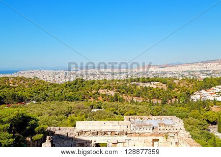 Ancient  Town And New  Greece