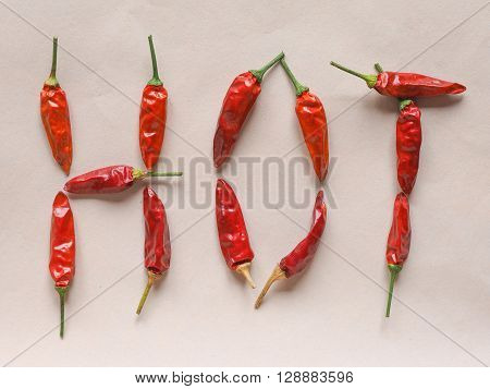 Hot Chili Pepper Vegetables