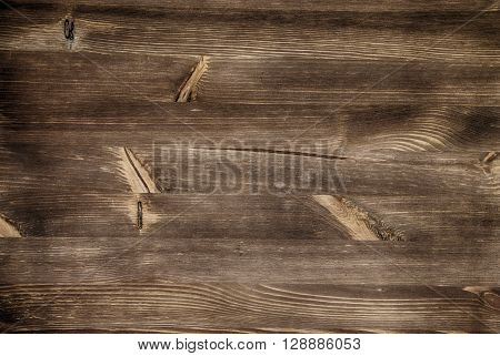 Old wooden background for desing empty space