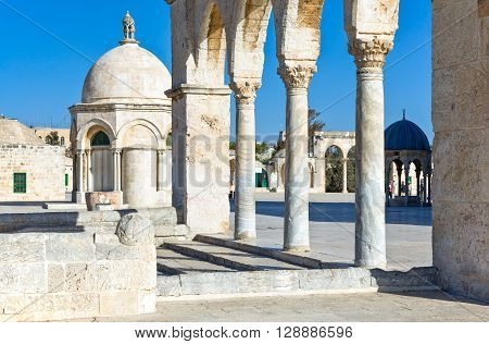 Israel Jerusalem a gateway to the Temple Mount (Har Habait)