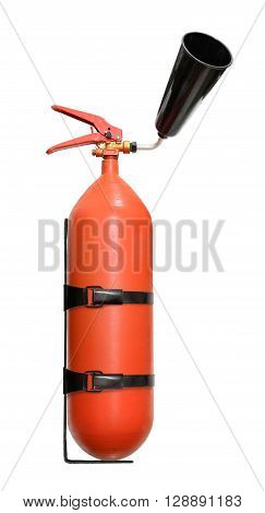 Fire Extinguisher With Nozzle