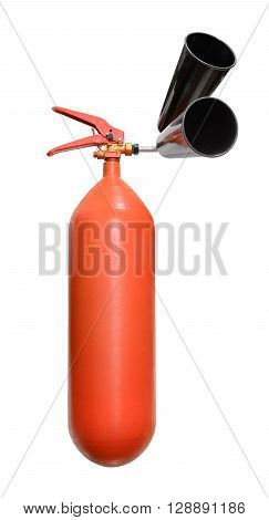 Fire Extinguisher With Nozzles