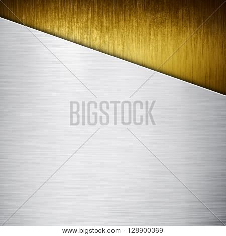 gold metal pattern background