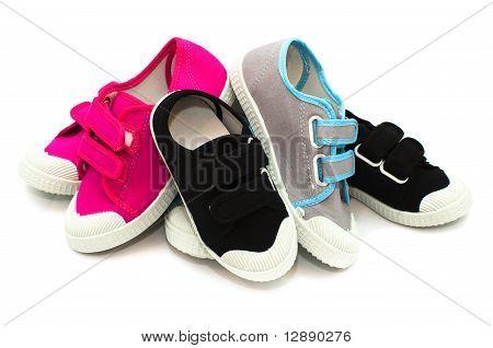 Small color children shoes