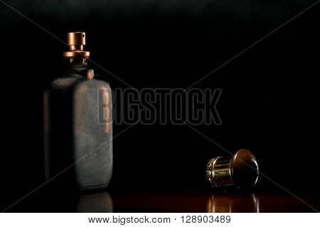 Vial Of A Male Perfume